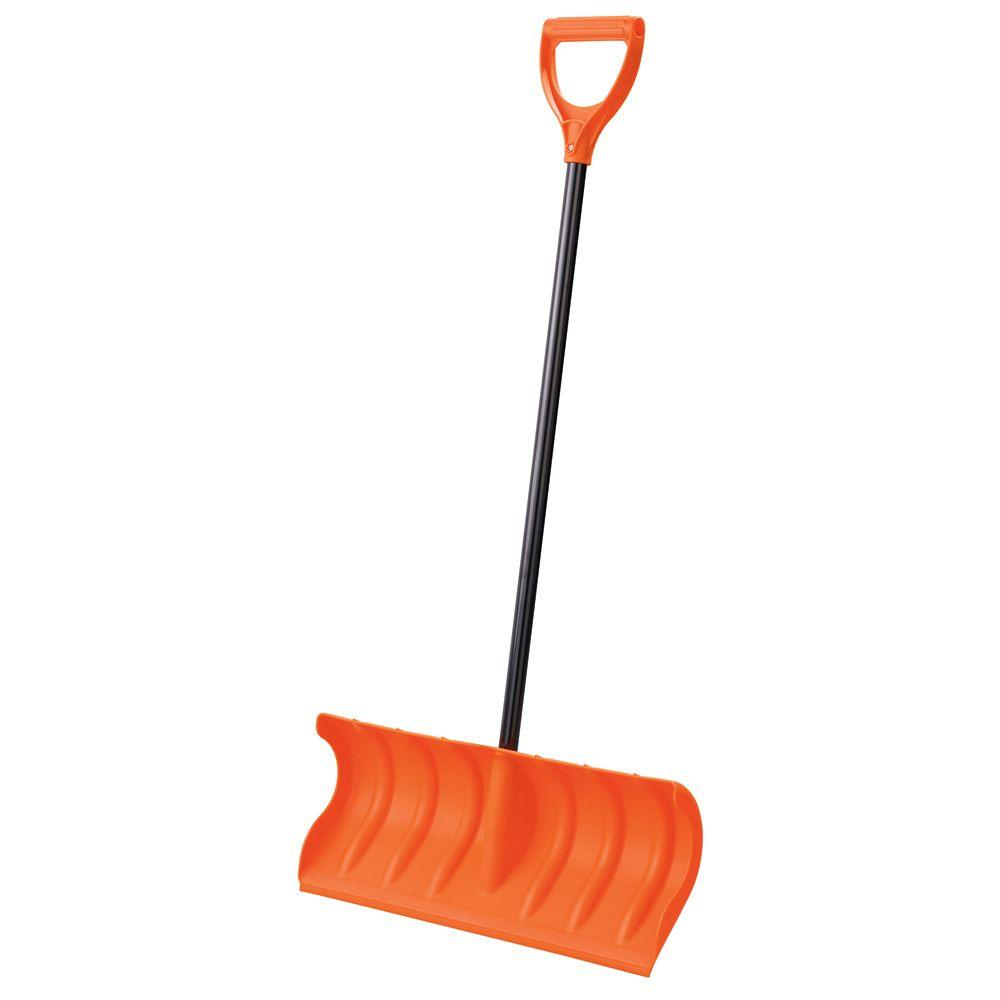 Orbit 24 in. Pusher Snow Shovel