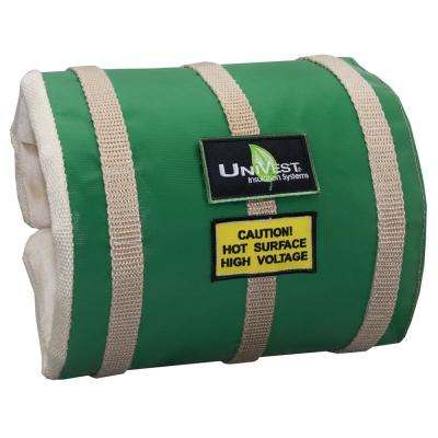 Unitherm Univest Insulation Jacket High Temperature 25 In L X 10 In W Insulation Wrap Uvst2510 The Home Depot