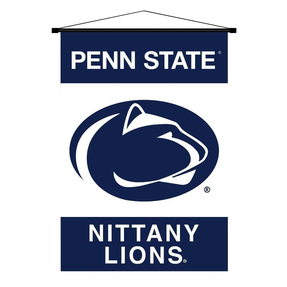 BSI Products NCAA Penn State Nittany Lions Indoor 3 ft. 3 in. x 2 ft. 3 in. Banner Scroll