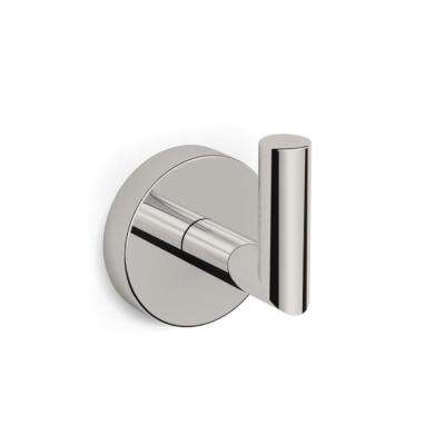 Luxury Hotel Wall Mounted Bathroom Hook in Satin Nickel