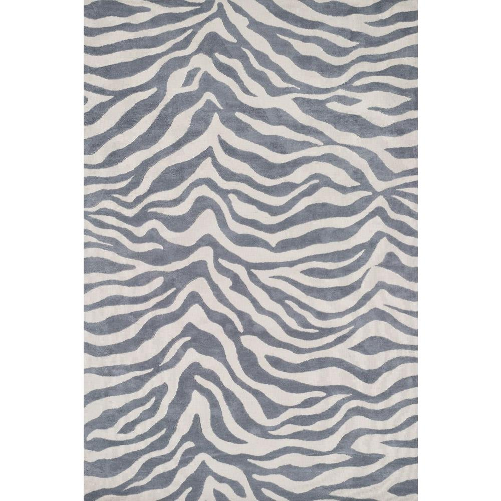 Loloi Rugs Cassidy Lifestyle Collection Ivory/Grey 2 ft. 3 in. x 3 ft. 9 in. Area Rug