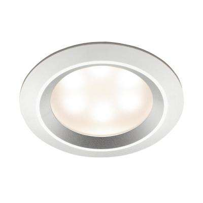 Recessed LED Light in Polished Aluminum