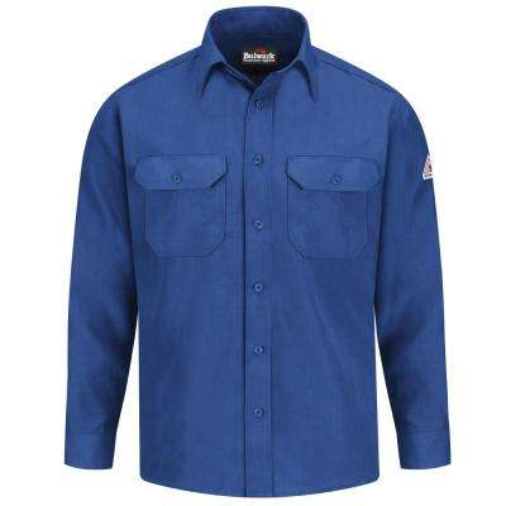 Nomex IIIA Men's X-Large (Tall) Royal Blue Uniform Shirt