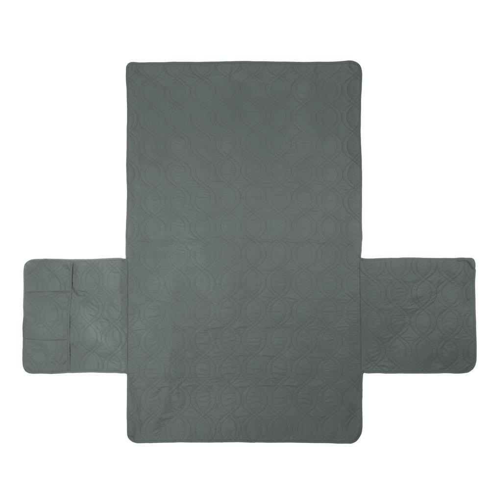 Non-Slip Gray Waterproof Love Seat Slipcover