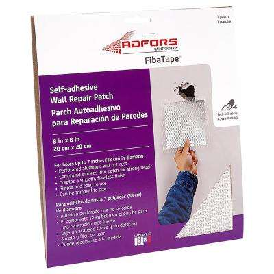 8 in. x 8 in. Self-Adhesive Wall and Ceiling Repair Patch
