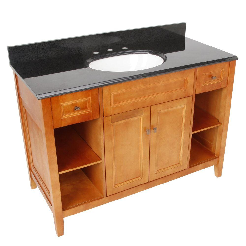 Top D Exhibition Model : Home decorators collection exhibit in w in d vanity in