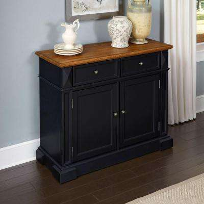 Americana Black and Oak Buffet