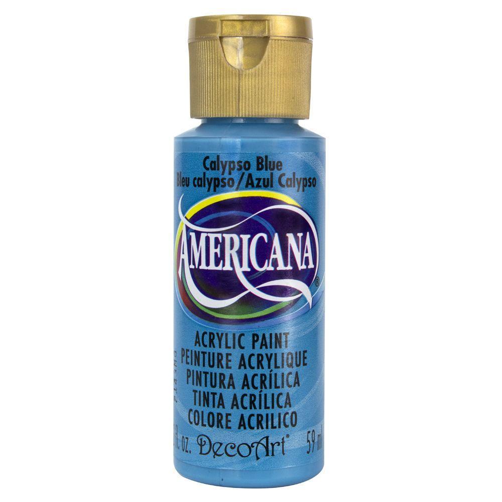 Americana 2 oz. Calypso Blue Acrylic Paint