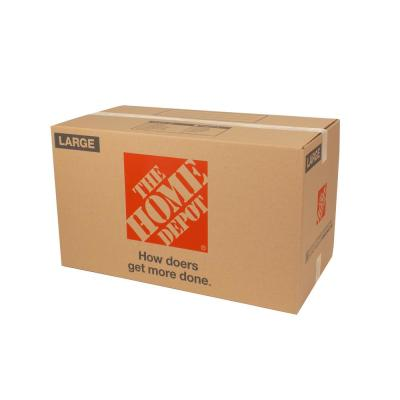 Large Moving Box 10-Pack (18 in. L x 18 in. W x 24 in. D)