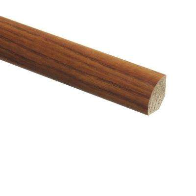 Amber Ash 5/8 in. Thick x 3/4 in. Wide x 94 in. Length Vinyl Quarter Round Molding