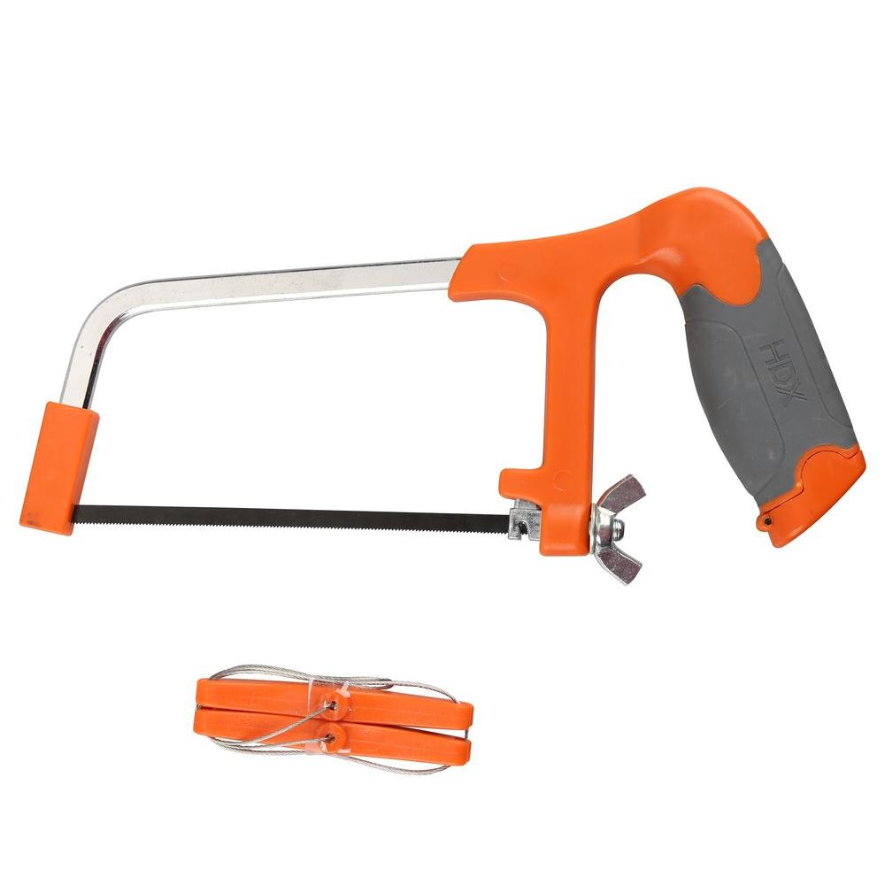 2-in-1 Mini Hacksaw with PVC Cable Saw