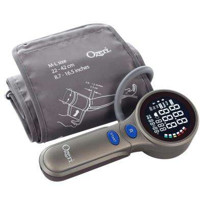 Upper Arm Blood Pressure Monitor with Intelligent Hypertension Detection