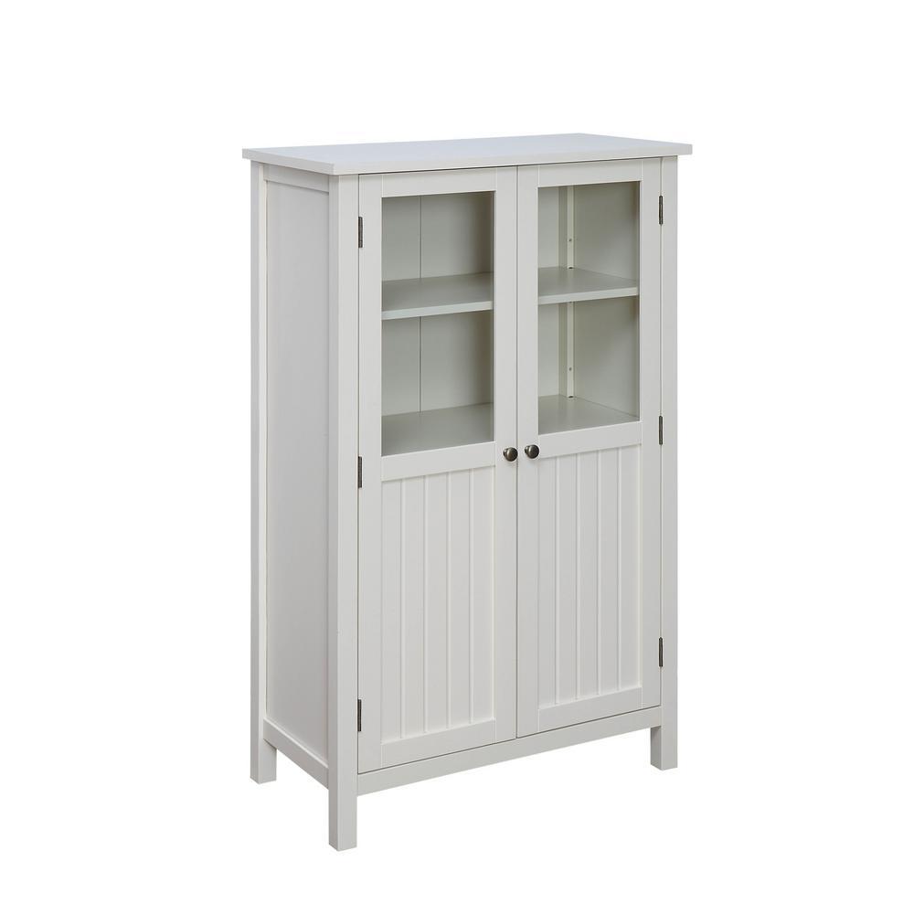 Farmhouse White Storage Pantry