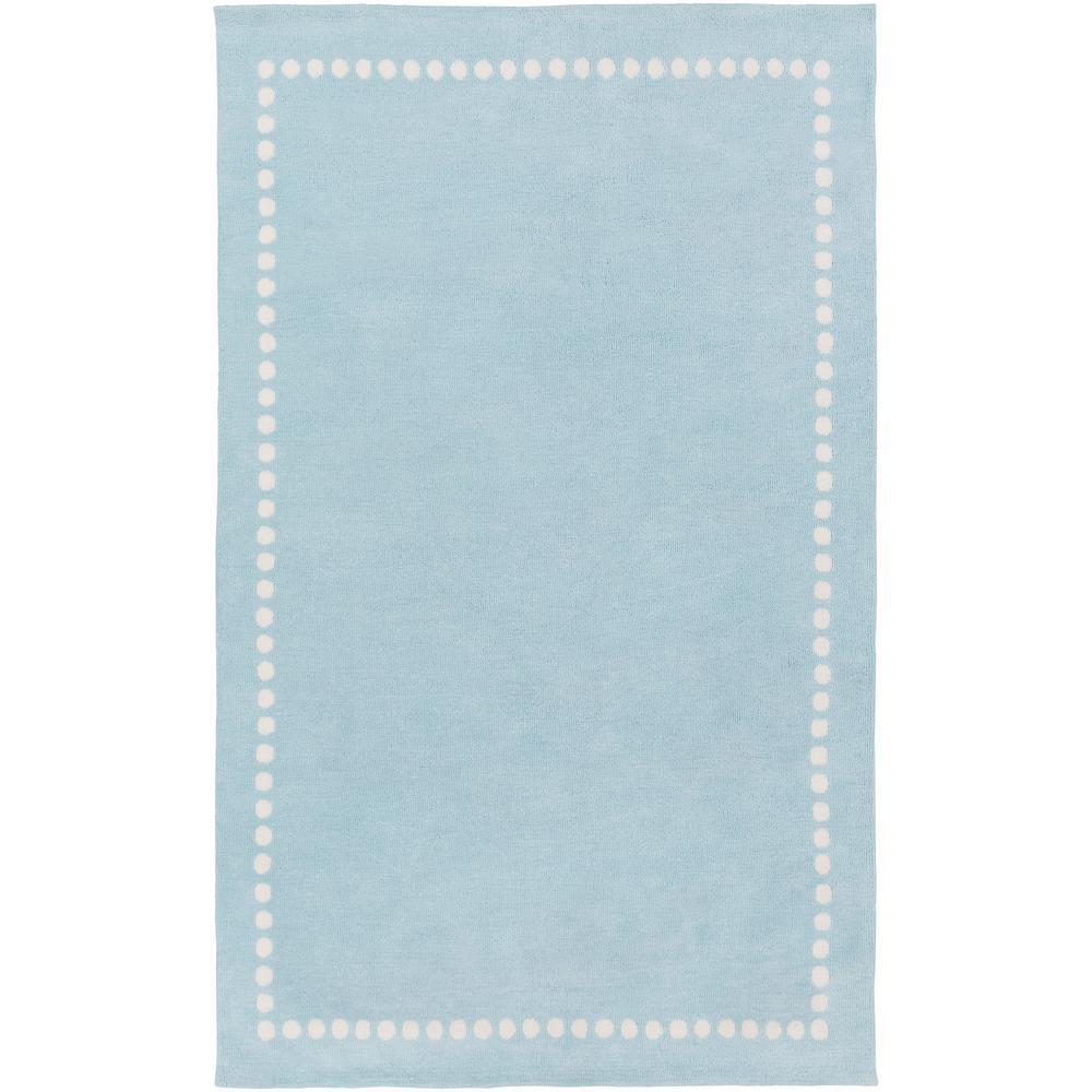 Surya Aail Pale Blue 2 Ft X 3 Indoor Area Rug