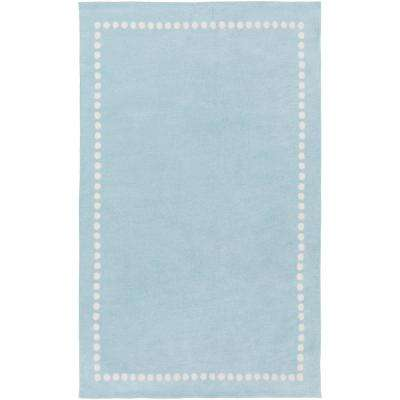 Abigail Pale Blue 5 ft. x 8 ft. Indoor Area Rug