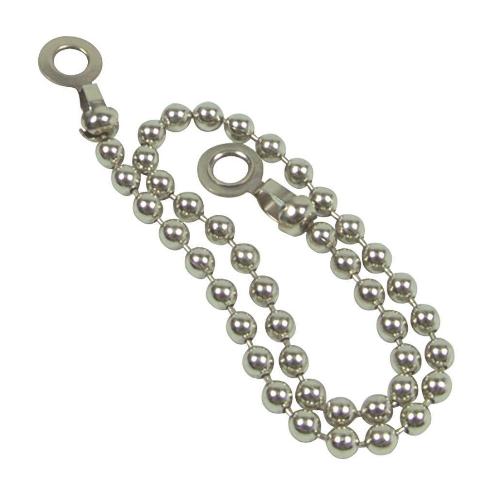11 in. Steel Beaded Chain