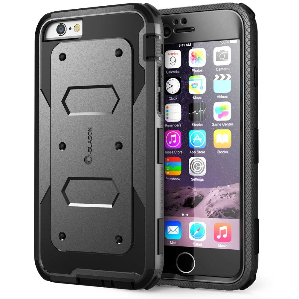 i-Blason Armorbox Full-Body Protective Case for Apple iPhone 6/6S Plus -Black