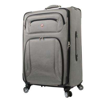 Zurich 28 in. Pewter Spinner Suitcase