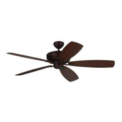 Bonneville Max 60 in. Roman Bronze Ceiling Fan