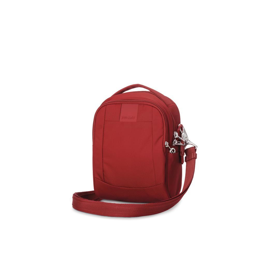 Metrosafe LS100 Vintage Red Crossbody Bag