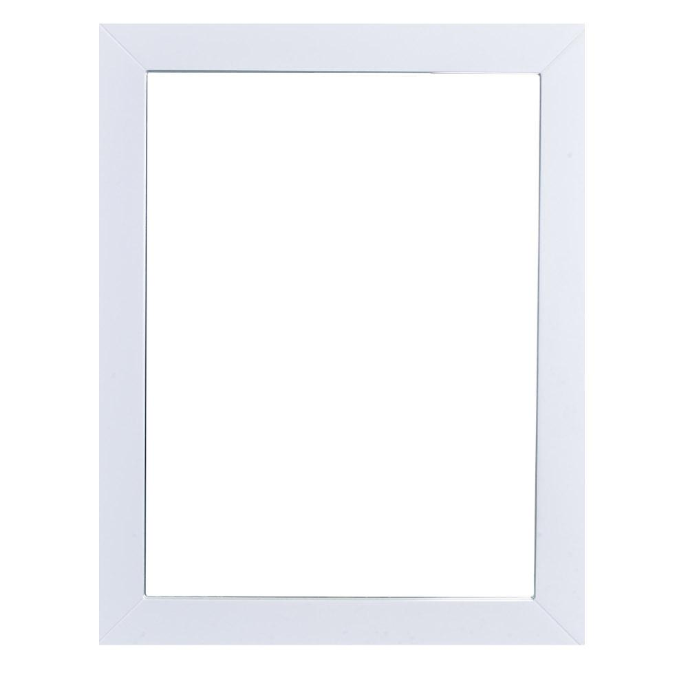 Eviva New York 24 in. W x 31 in. H Full Frame Wall Mounted Vanity ...