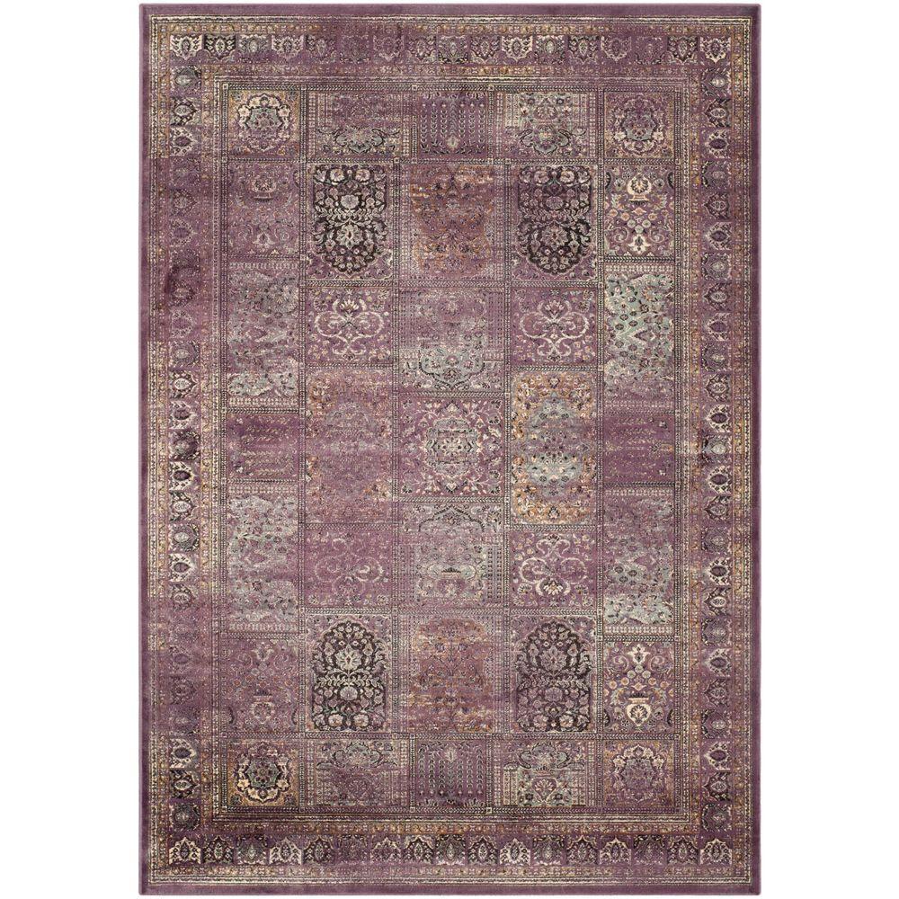 Safavieh Vintage Purple/Fuchsia 8 ft. x 11 ft. 2 in. Area Rug