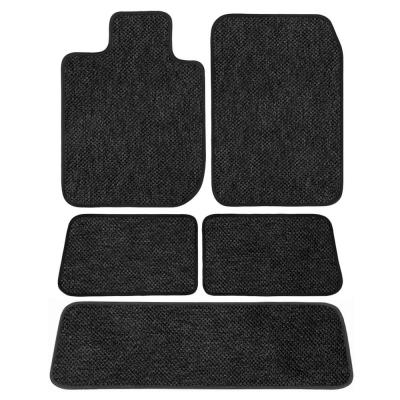 2006 Saab 9-2X Black with Red Edging Driver GGBAILEY D4475A-S1A-BLK/_BR Custom Fit Car Mats for 2005 Passenger /& Rear Floor