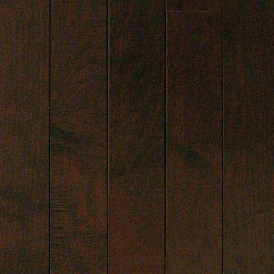 Maple Chocolate 3/8 in. Thick x 3-3/4 in. Wide x Random Length Engineered Click Hardwood Flooring (24.4 sq. ft. / case)