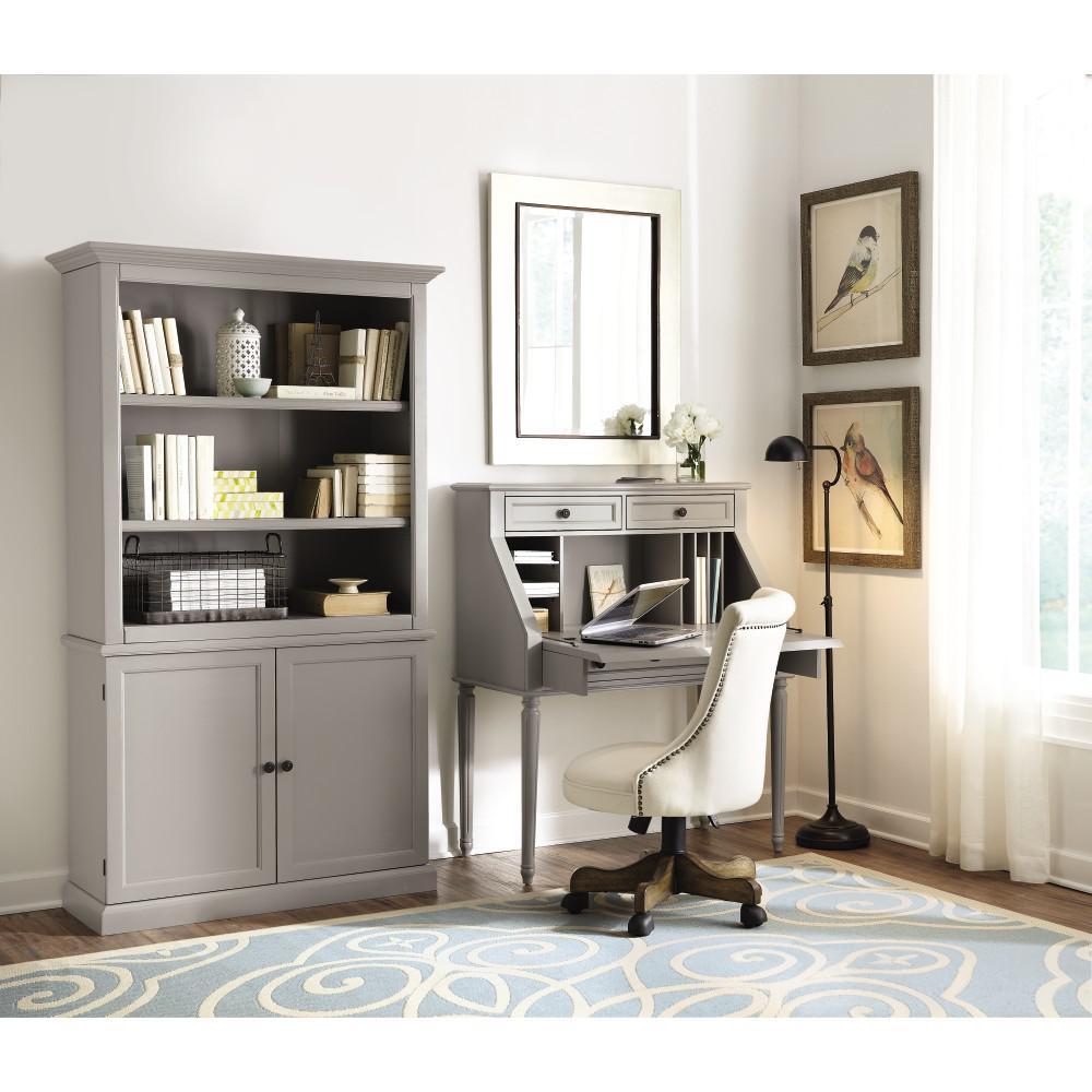 Ingrid Rubbed Gray Desk