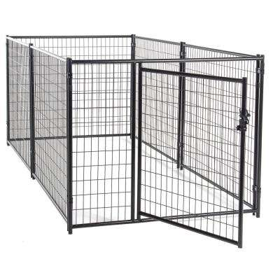 4 ft. H x 5 ft. W x 10 ft. L Modular Kennel Welded Wire Kit