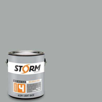 Category 4 1 gal. Mystic Gray Matte Exterior Wood Siding 100% Acrylic Stain