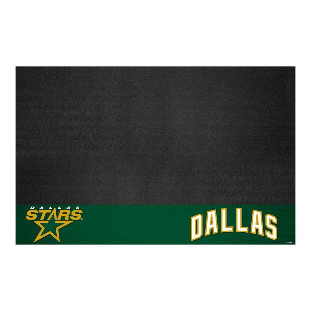 Dallas Stars 26 in. x 42 in. Grill Mat