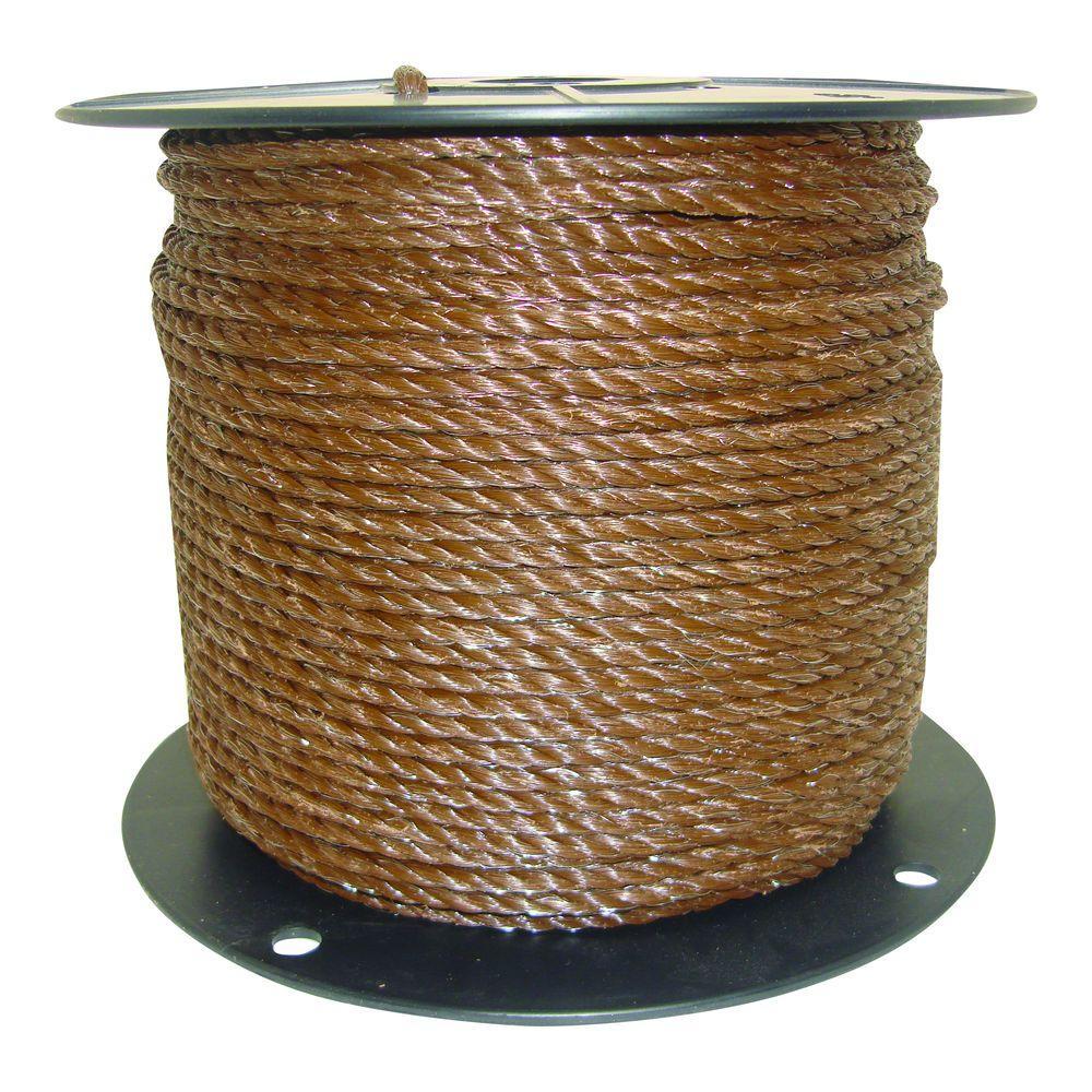 1/4 in. Brown Polyrope