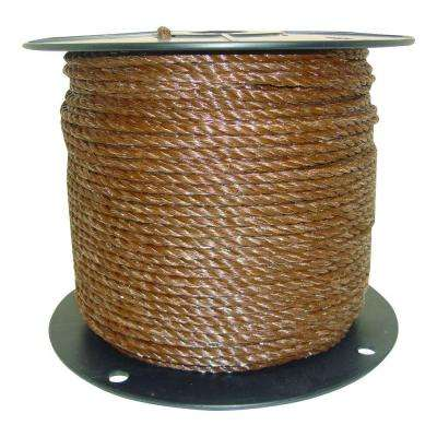 1/4 in. Brown Polyrope