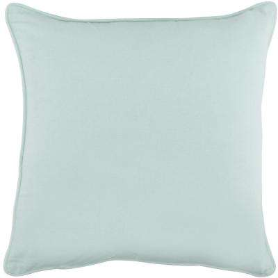 American Colors Reversible Pillow in Spa Blue