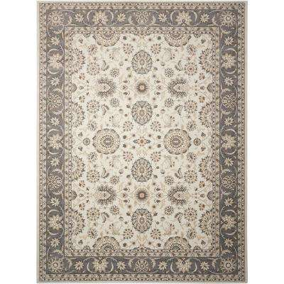 Persian Crown Ivory/Grey 9 ft. 3 in. x 12 ft. 9 in. Area Rug