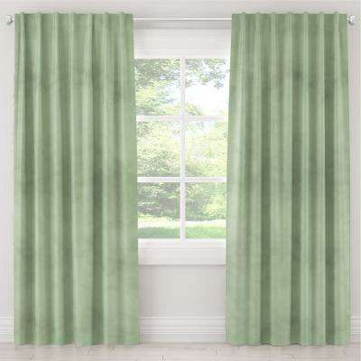 50 in. W x 96 in. L Blackout Curtain in Lulu Sage