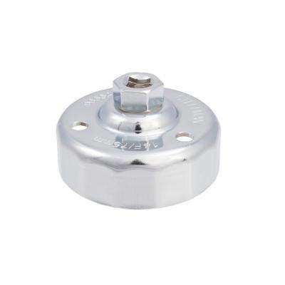 75 mm. x 14 Flute Oil Filter Cap Wrench, Chrome