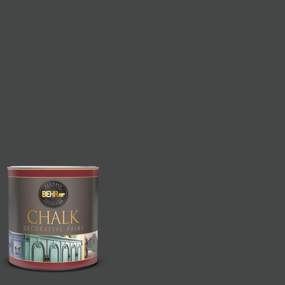 1 qt. #PPU26-23A Dark Secret Interior Chalk Decorative Paint