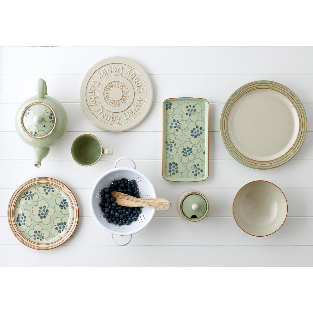 Heritage Orchard 12-Piece Green Dinnerware Set
