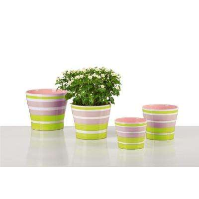 6.0 in. Dia Lemonade Ceramic Pot