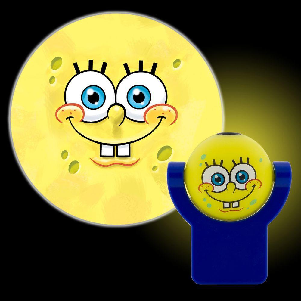 projectables spongebob squarepants plug in night light 11708 the