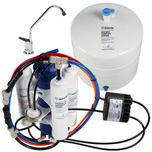Home Master Artesian Full Contact with Permeate Pump Under Sink Reverse Osmosis System by Home Master