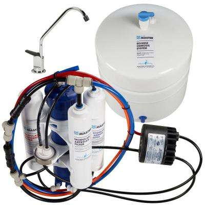 Artesian Full Contact with Permeate Pump Under Sink Reverse Osmosis System