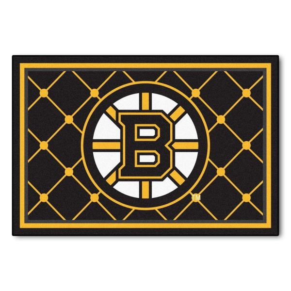 Boston Bruins 5 ft. x 8 ft. Area Rug