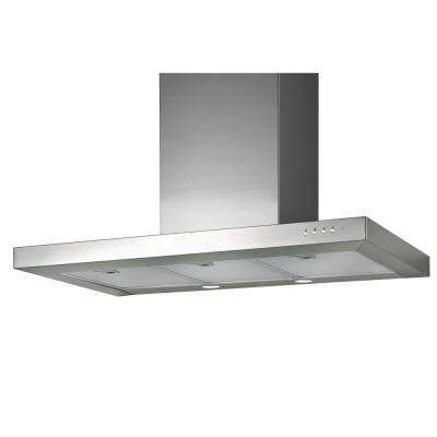Box Series 36 in. Wall Mounted Range Hood in Stainless Steel