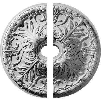 32-3/8 in. O.D. x 5-1/2 in. I.D. x 3-1/2 in. P Tristan Ceiling Medallion (2-Piece)
