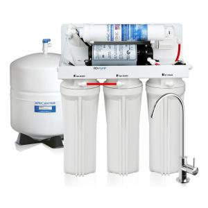 Click here to buy APEC Water Systems Ultimate Electric Pumped 45 GPD 5-Stage Reverse Osmosis Drinking Water Filter System for Low Pressure Homes 0-30PSI 120V by APEC Water Systems.