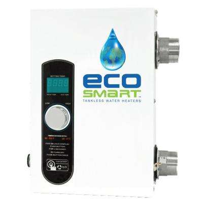 27 kW 4.07 GPM Smart Pool Electric Pool Tankless Water Heater