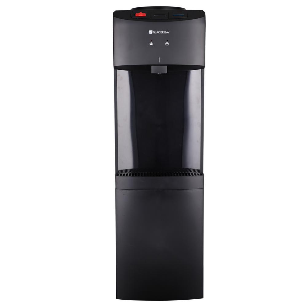 Matte Black Top Load Water Dispenser
